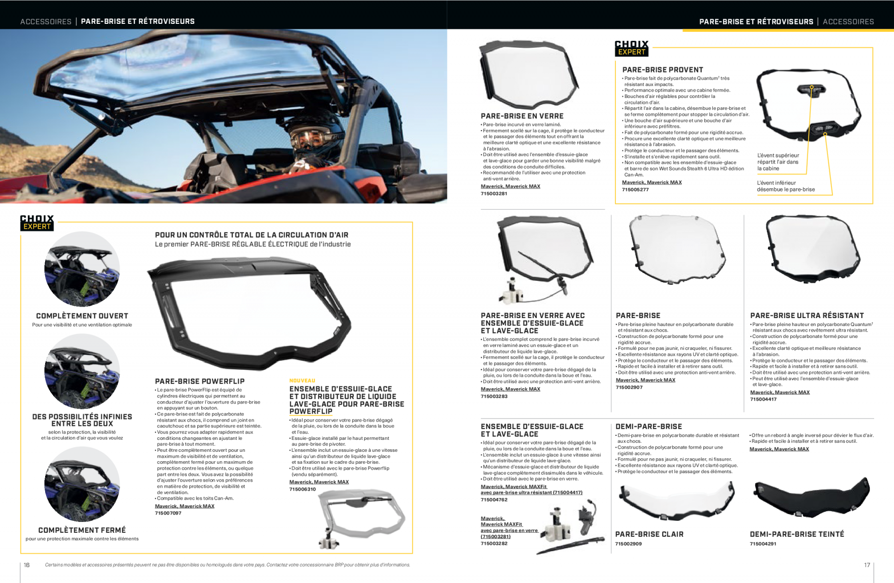 catalogue-accessoires-can-am-off-road-2021-maverick-X09