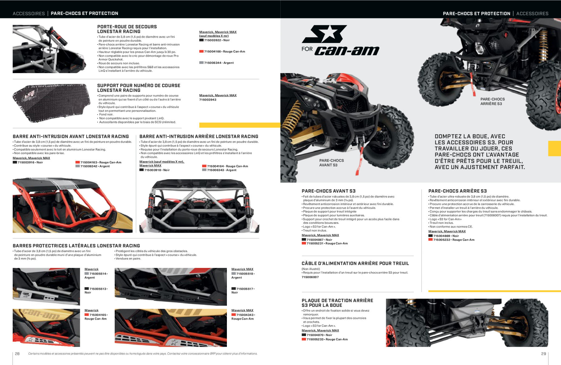 catalogue-accessoires-can-am-off-road-2021-maverick-X15